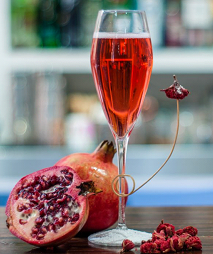 pomegrante - Lo Spritz - the National Drink of the Italian Summer